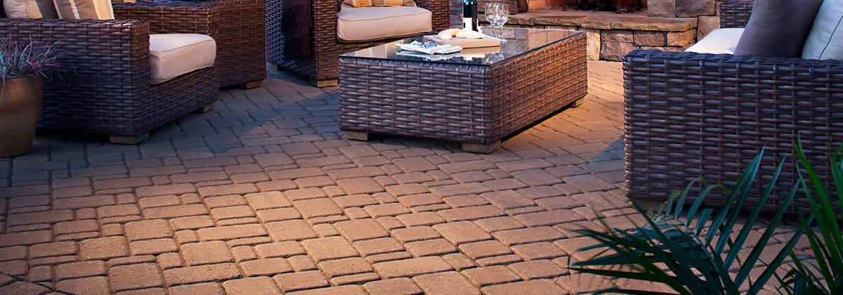 Belgard Cambridge Cobble Stone Paver Patio