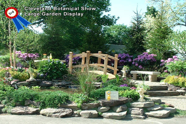 H&M Landscaping earns award for Cleveland Botanical Show Large Garden Display