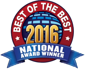 H&M Landscaping Cleveland Best of the Best Landscaper Award 2016