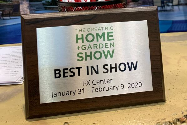 H&M Landscaping takes Best in Show at The Cleveland Home + Garden Show