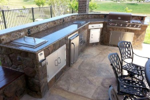 Cleveland Landscaping ClifRock Kitchen Installation