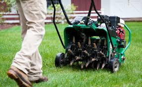 Landscaping in Cleveland with Core Aeration