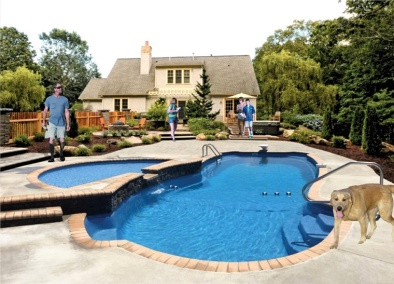 Cleveland Outdoor Pool Installation
