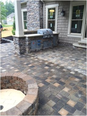 Patio Cleaning, Leveling & Repair by H&M Landscaping in Cleveland, Ohio