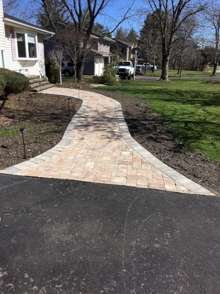 Cleveland Area Paver Walkway Installation
