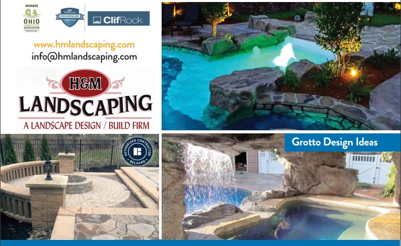 Cleveland Landscaping ClifRock Grotto Water Feature Design