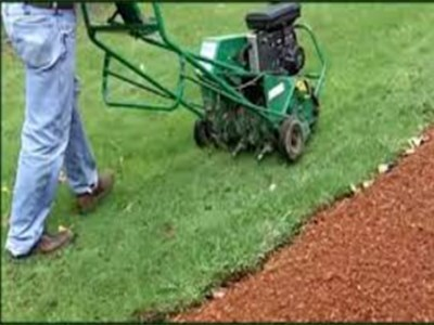 Cleveland's H&M Landscaping offers Core Aeration Lawn Service