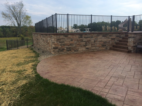 Hardscape Landscaping Restoration in Richfield Ohio