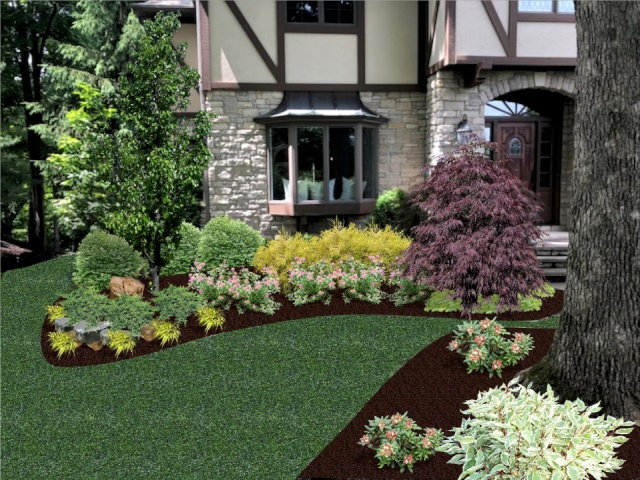 Landscape Design Plan by H&M Landscaping