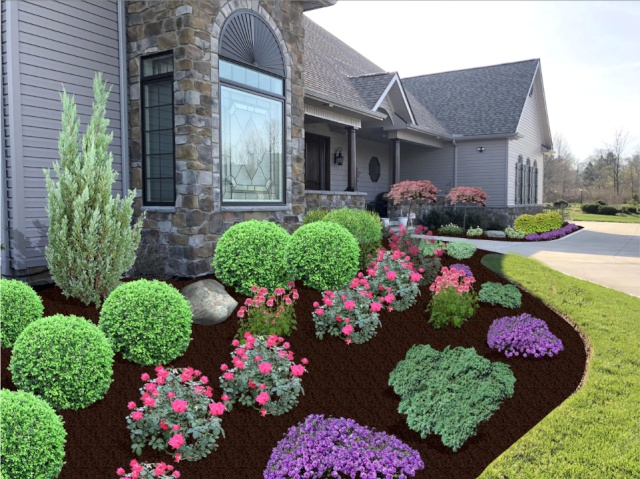 Landscape Installation Plan by H&M Landscaping