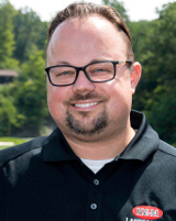 Mike Barnes of H&M Landscaping