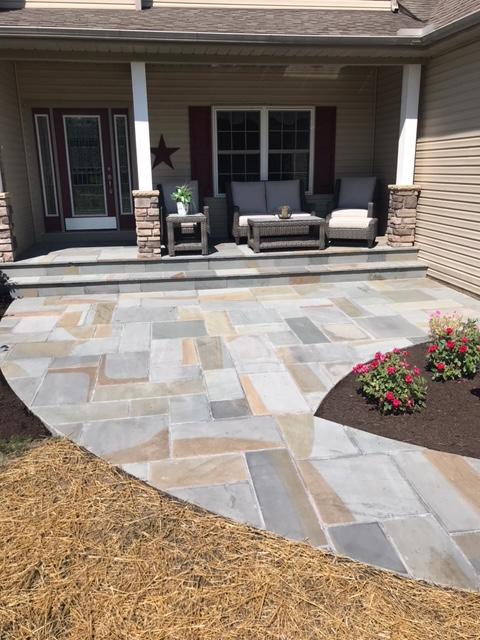 H&M Landscaping does Walkway Resurfacing in the Cleveland Ohio Area