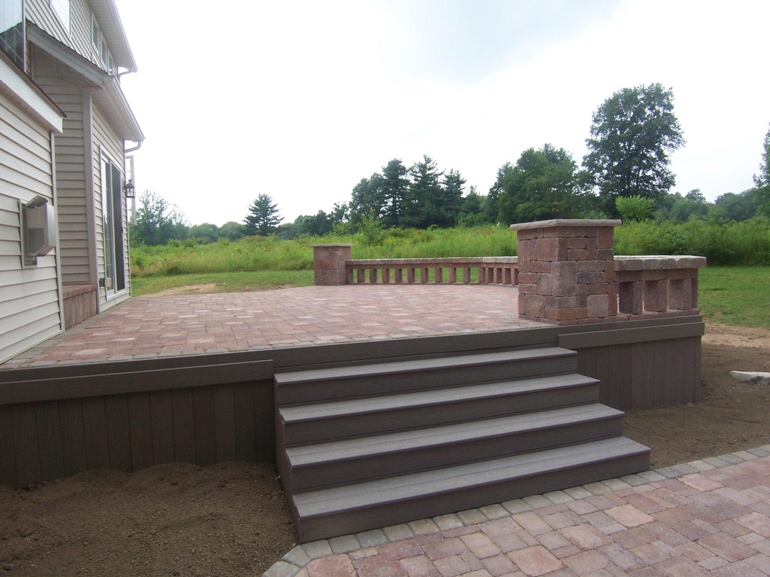 Landscape Deck Hardscape Restoration With Silca System