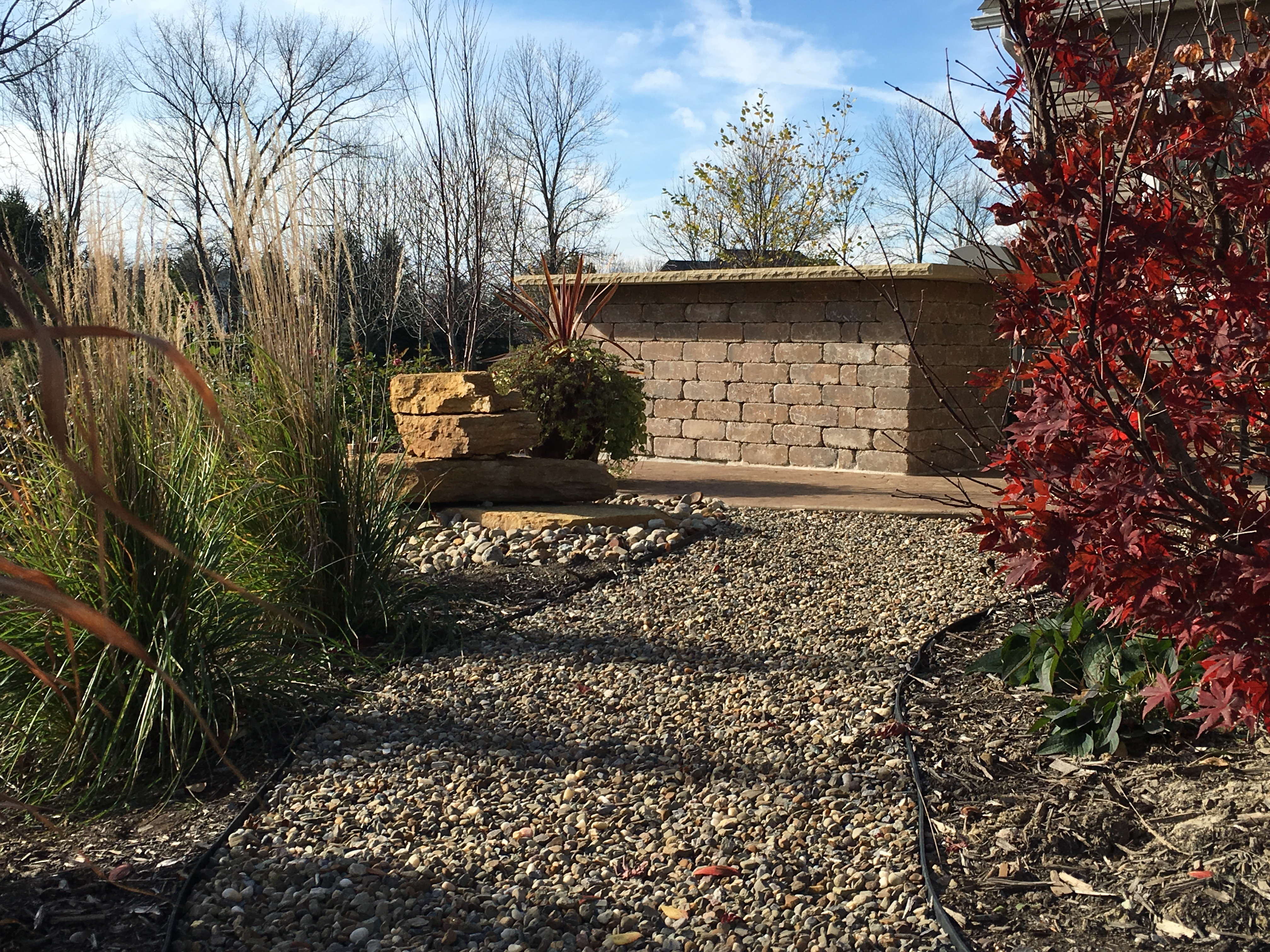 Landscape Design in Boston Heights
