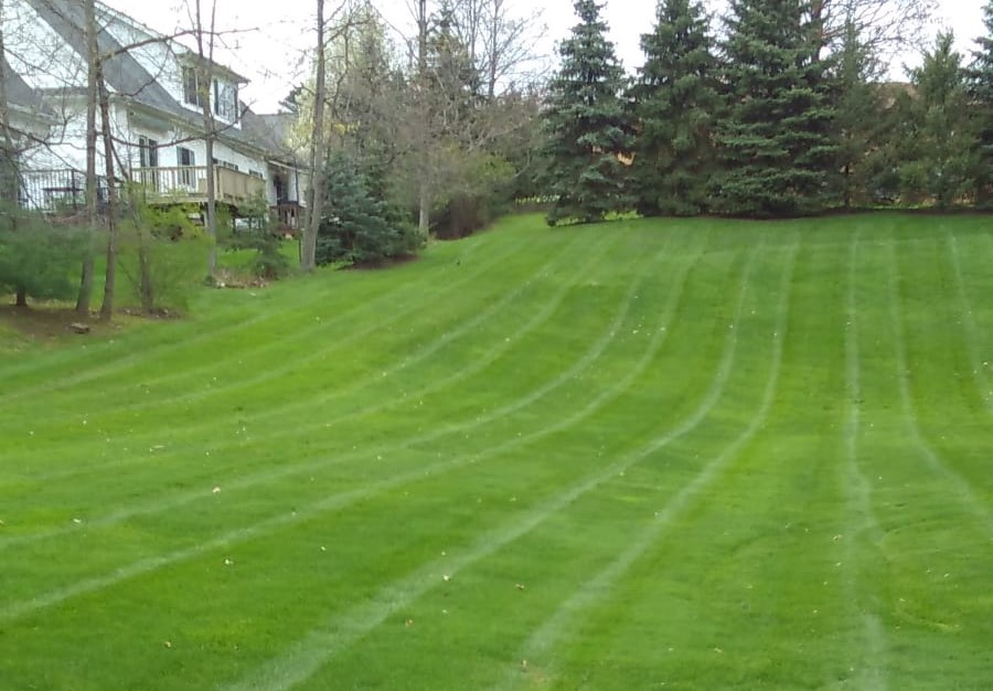 Landscape Lawn Irrigation Systems for Cleveland Ohio by H&M Landscaping