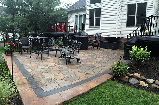 Landscape Outdoor Patio Designs by H&M Landscaping