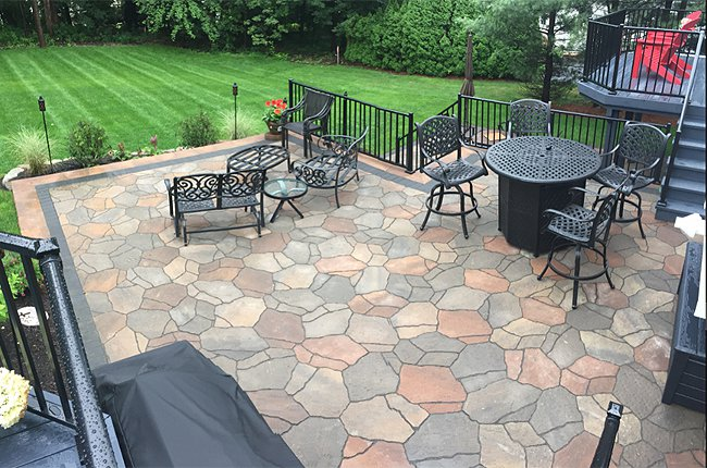 Landscape Patio and Deck Designs by H&M Landscaping