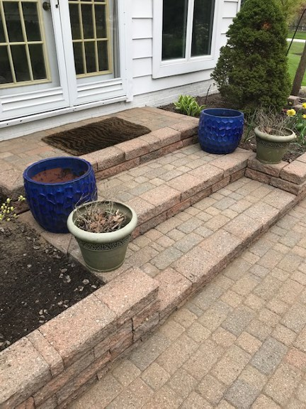 Cleveland Landscape Patio Repair Services by H&M Landscaping
