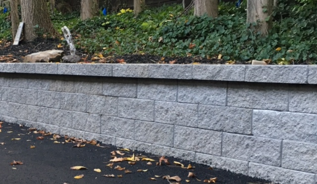 Landscape Retaining Wall Systems for Cleveland Ohio by H&M Landscaping