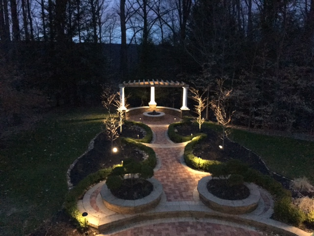 Landscaping Services, Landscape LED Lighting