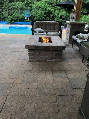 Landscape Paver Patio Installs by H&M Landscaping