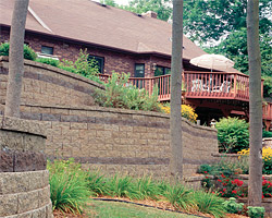 Cleveland Landscaping using Versa Lok Retaining Wall