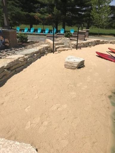 Cleveland Landscapers Hardscape Construction with Natural Stone