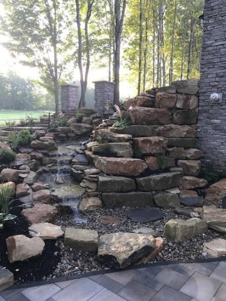 Cleveland Landscapers Design Outdoor Spaces with Natural Stone