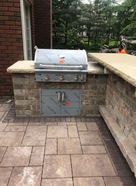 Cleveland Landscapers Design & Build Outdoor Grill