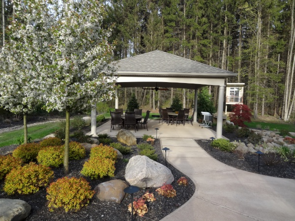 Custom Decks & Garden Structures - Cleveland Projects, by H&M Landscaping