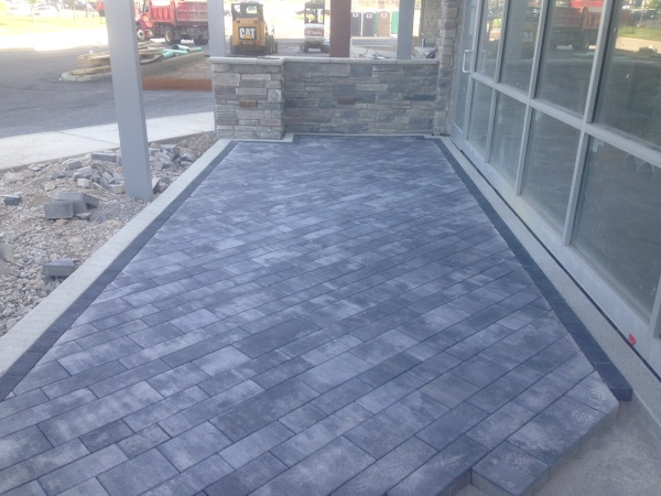 H&M Landscaping Hardscape Crew Install