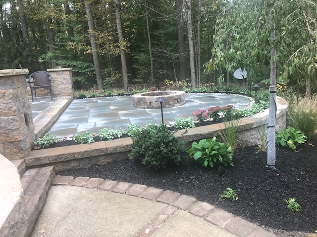Landscaping Outdoor Patio Designs by H&M Landscaping