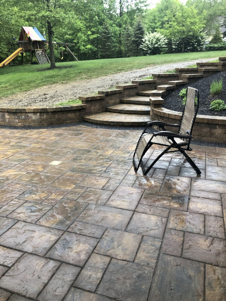 Cleveland's H&M Landscaping Designs & Installs Patios for Outdoor Living