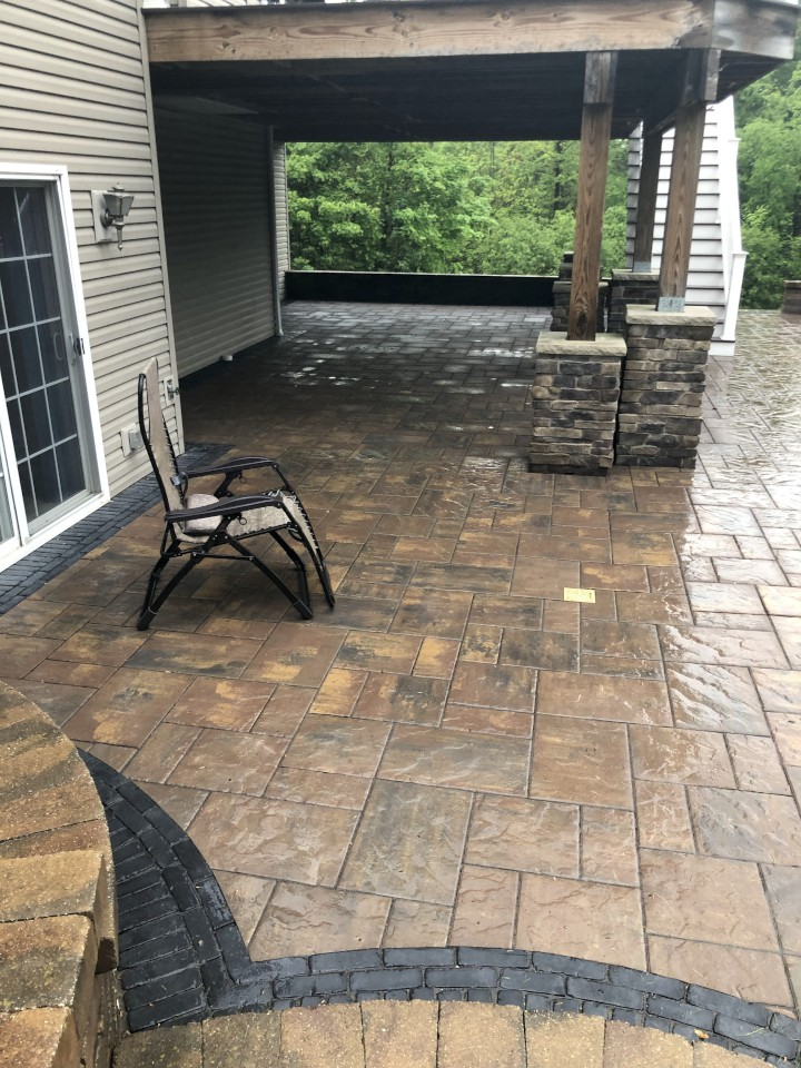 H&M Landscaping - Stamped Concrete Patio Design & Installation